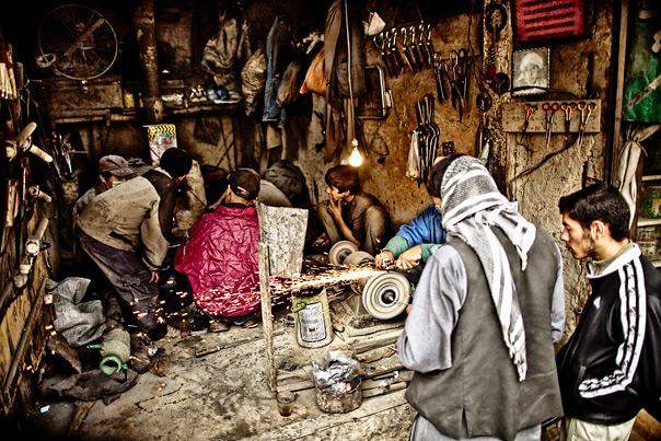 Afghanistan people portraits