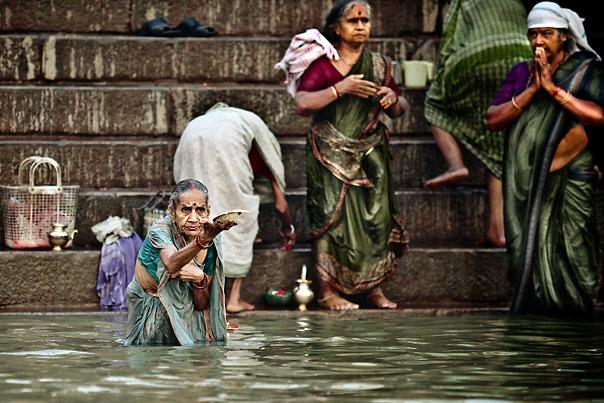 Ganga Holly river, India