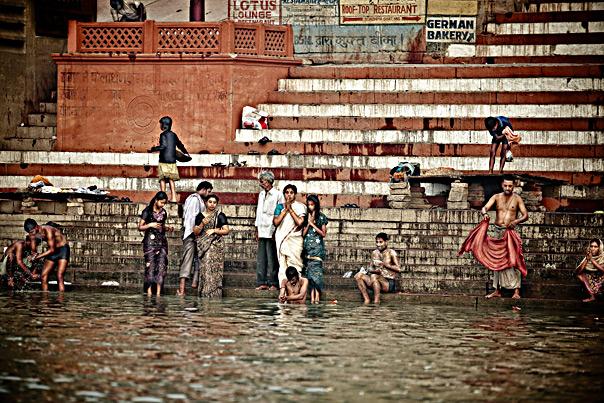 Ganges River Varanassi India