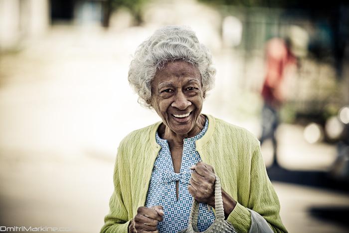 portrait of a woman in Havana