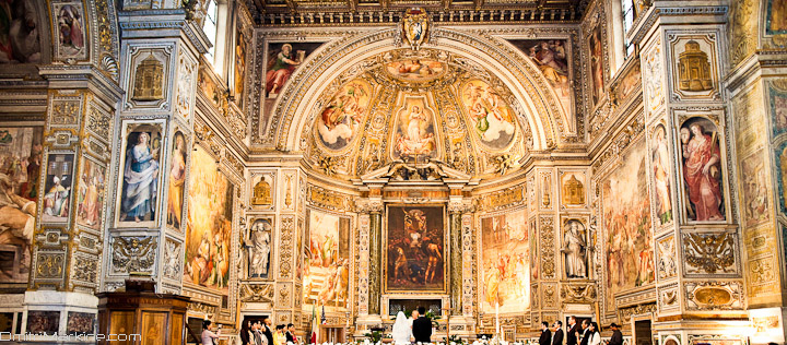 Italy cathedral wedding photographer