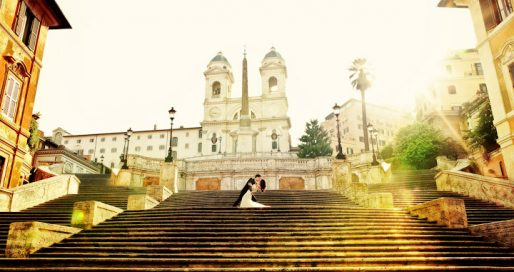 best destination wedding photographers in Rome