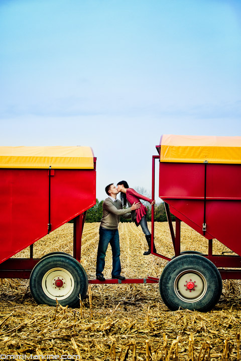 Farm engagement photographs Canada Ontario