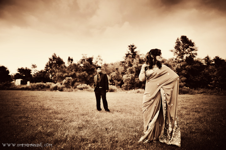 Toronto Indian Wedding Sari
