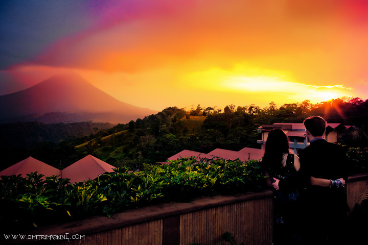 Best Costa Rica Wedding Photographer - Sunset @ Springs Resort and Spa