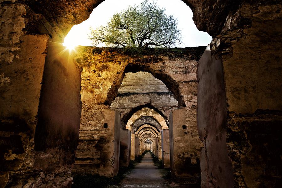 Meknes ruins