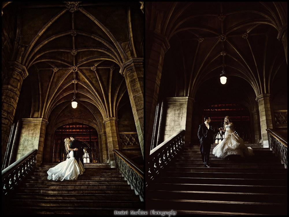 Knox College Ceremony by Toronto wedding photographer