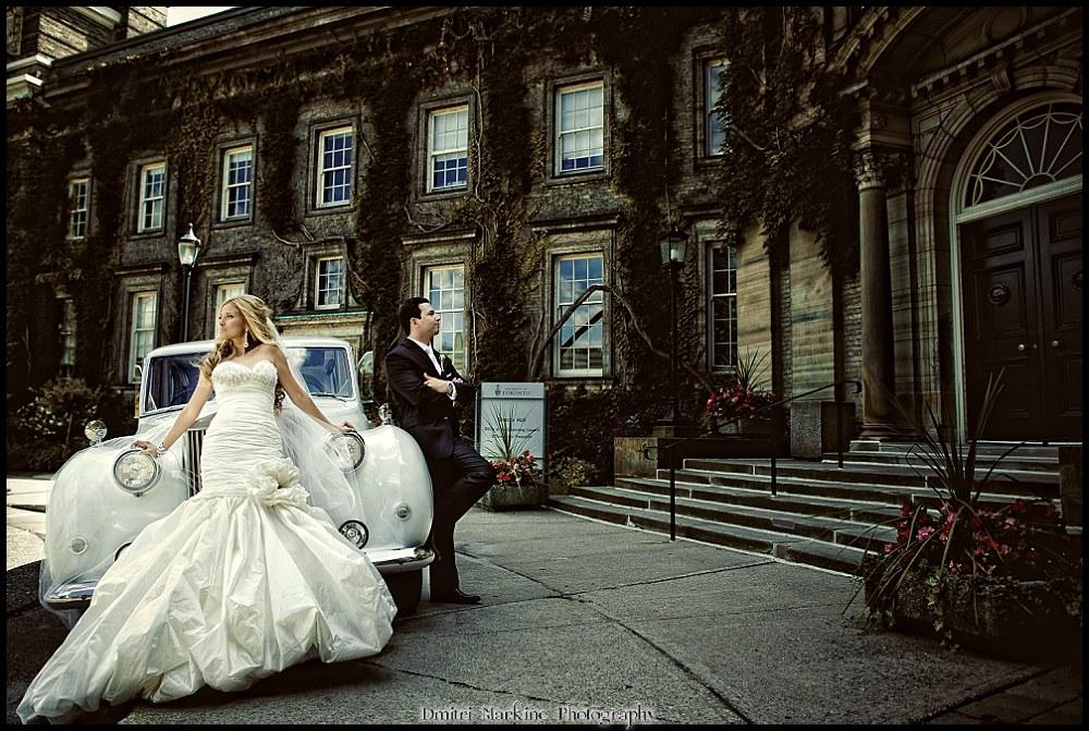 UofT Hart House Wedding Reception