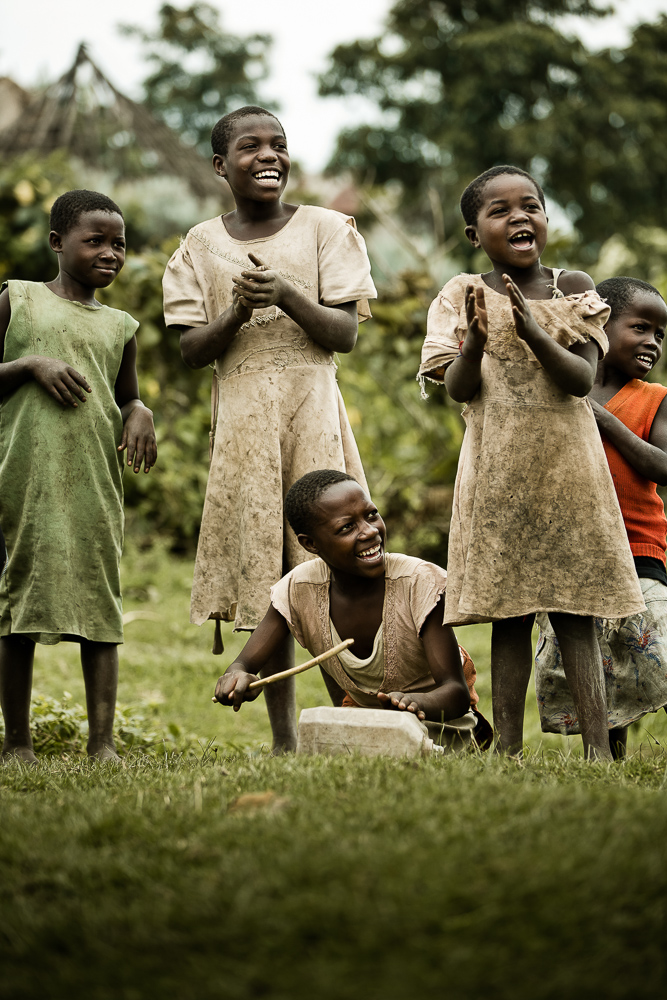 kids in africa smile