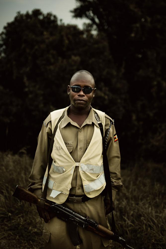 Police officer Uganda