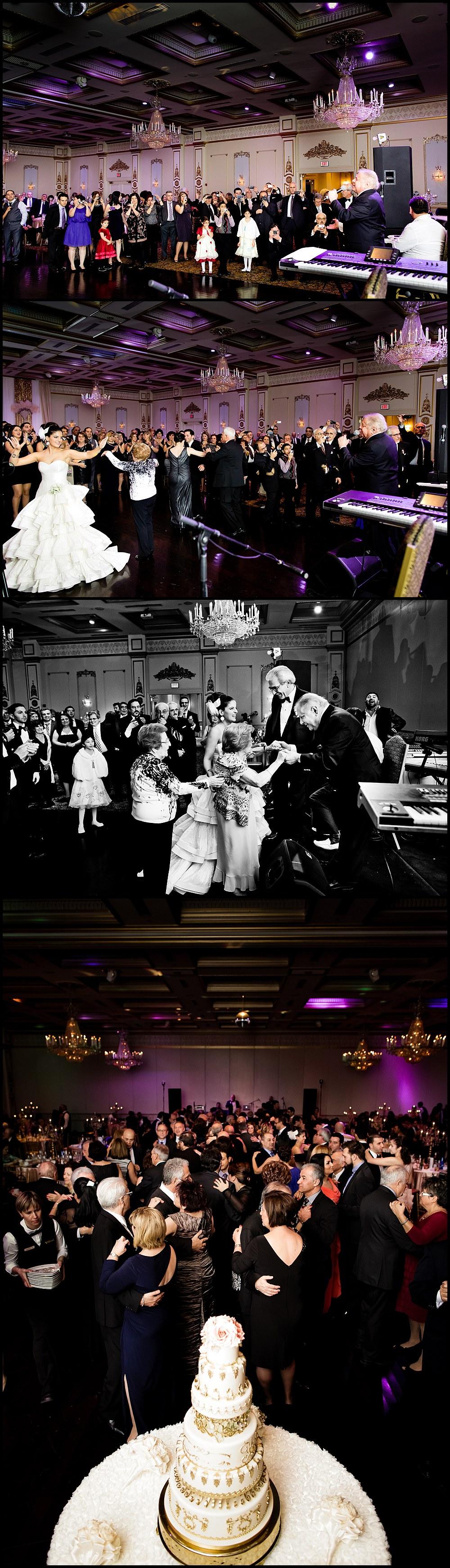 Venetian Banquet reception wedding in Toronto Canada -  Roupen Matevossian, Ruben Matevosyan