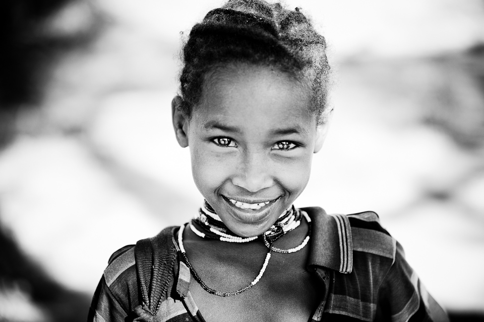 Amhara girl from Ethiopia