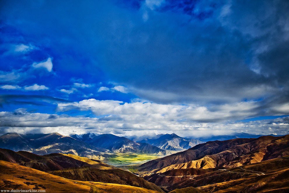 gorgeous landscapes of Tibet