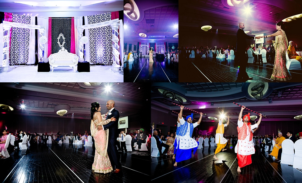 Indian wedding reception halls Toronto