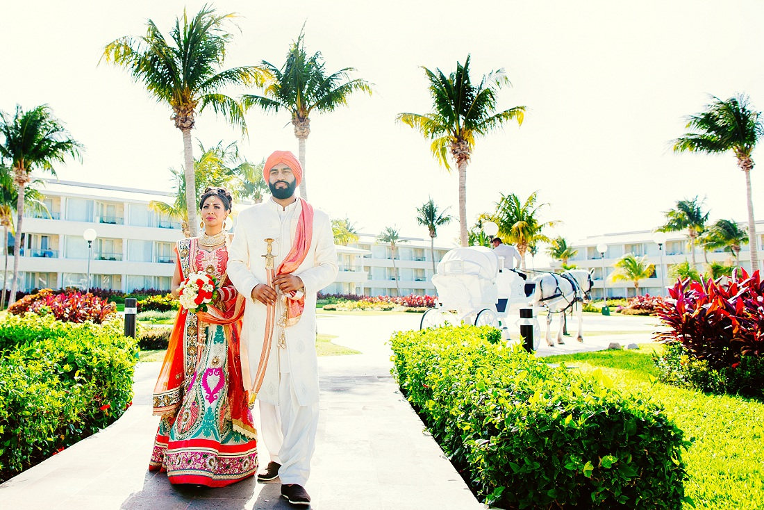 JW Mariott Cancun Resort and Spa wedding