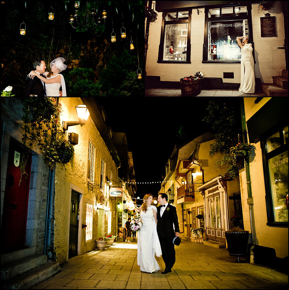 Quartier Petit Champlain weddings