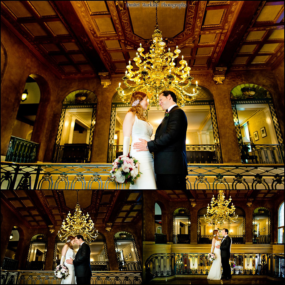 Fairmont Le Chateau Frontenac wedding Quebec city