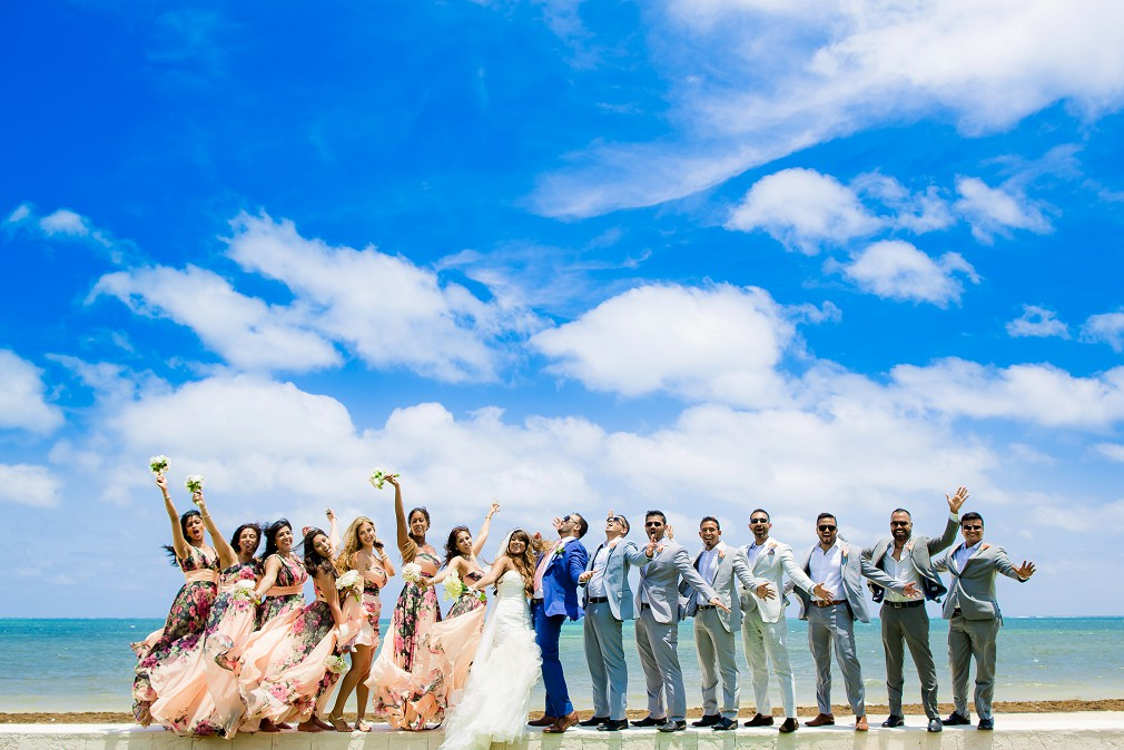 all inclusive resort wedding cancun