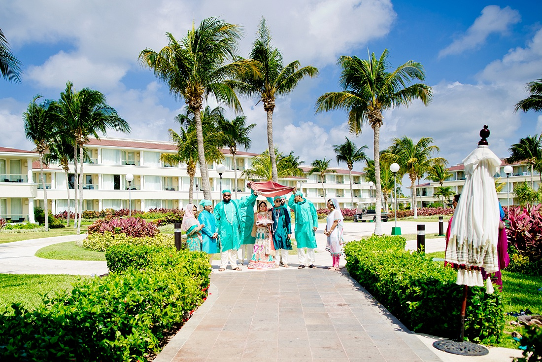 Atlantis Bahamas resort Indian wedding