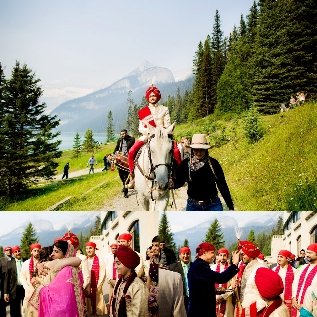 Banff Alberta indian wedding