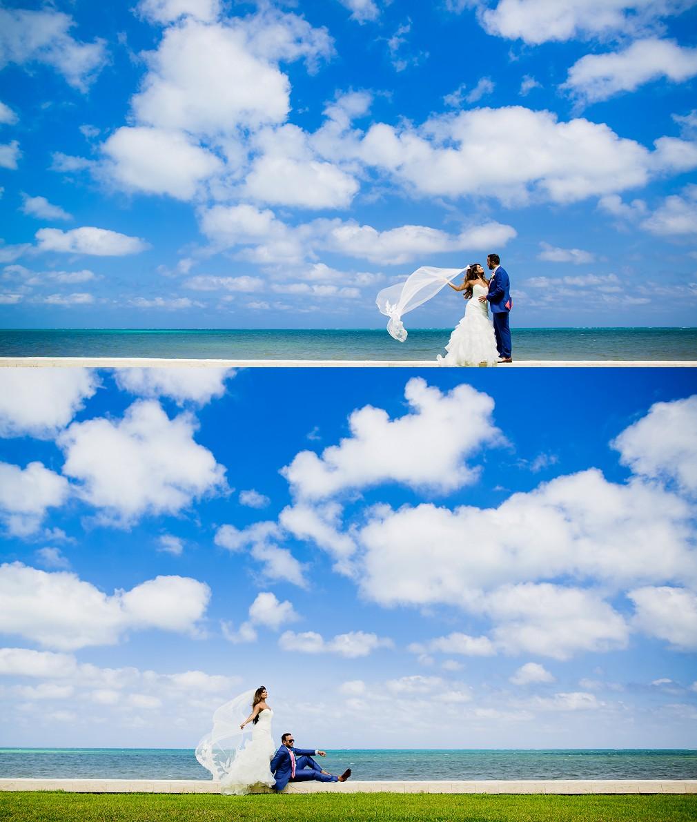 best resort wedding pictures cancun
