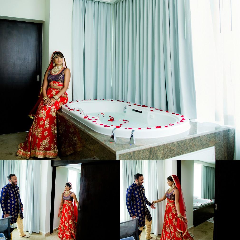 cancun indian wedding photographers