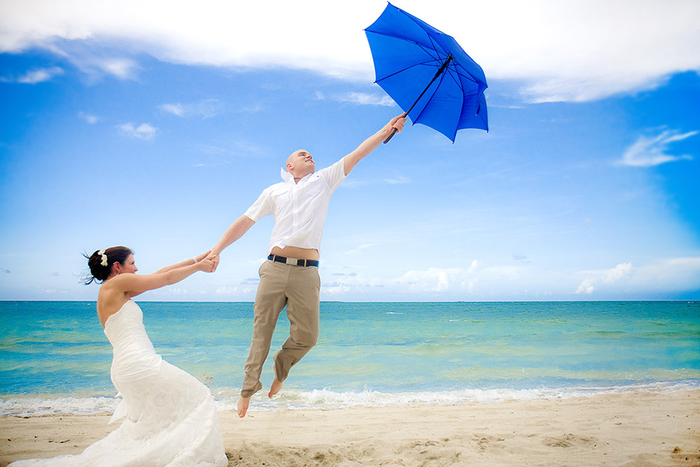 destination wedding photography in Varadero Cuba