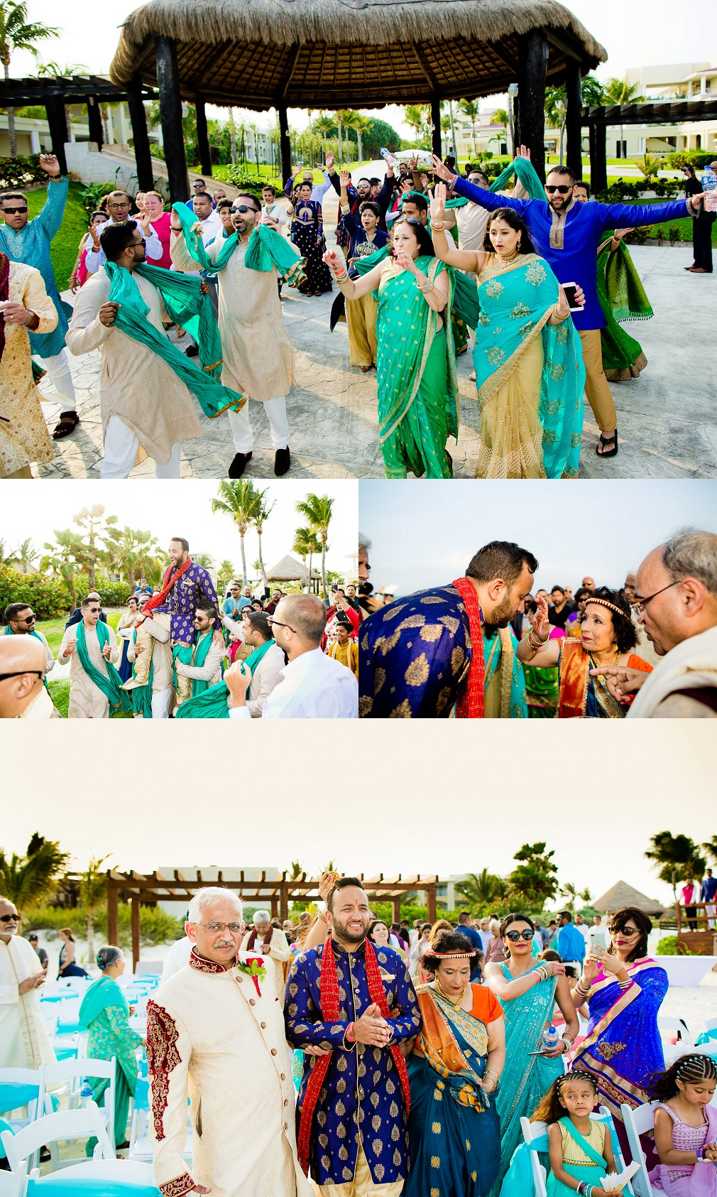 hindu wedding at all inclusive resort