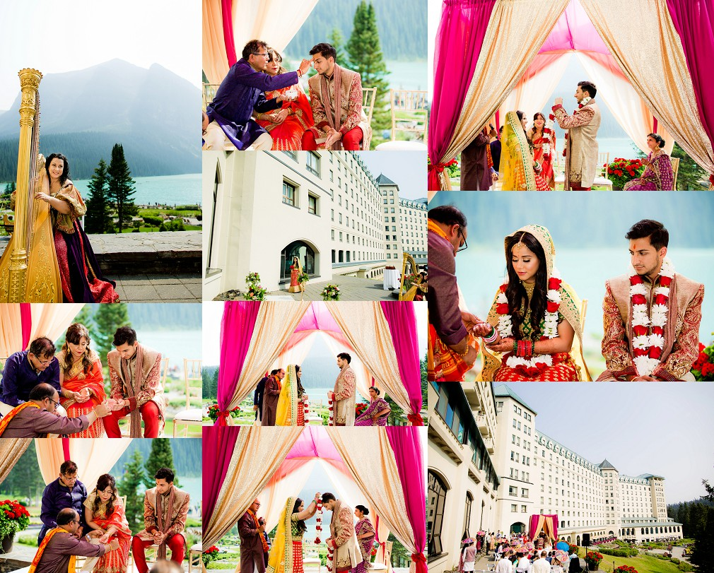 hindu wedding  in Banff Alberta