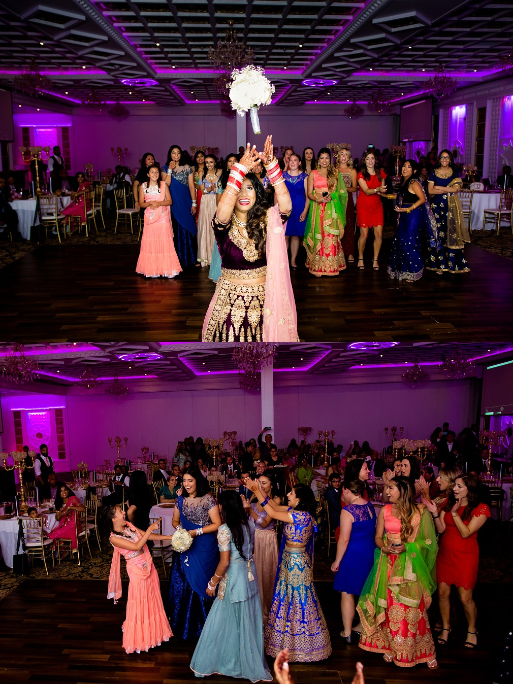 Indian wedding reception Calgary