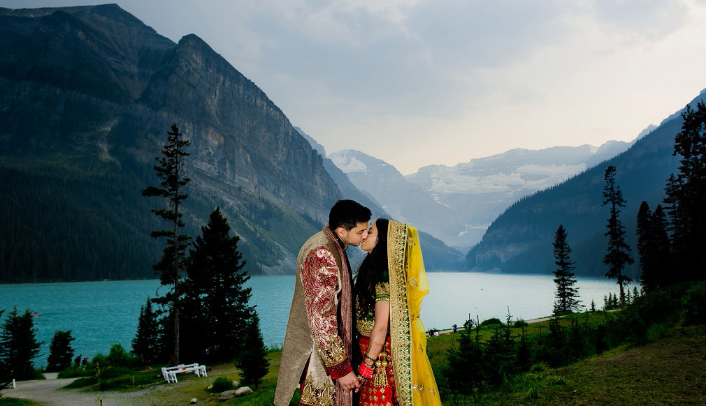 Lake Louise Fairmon wedding