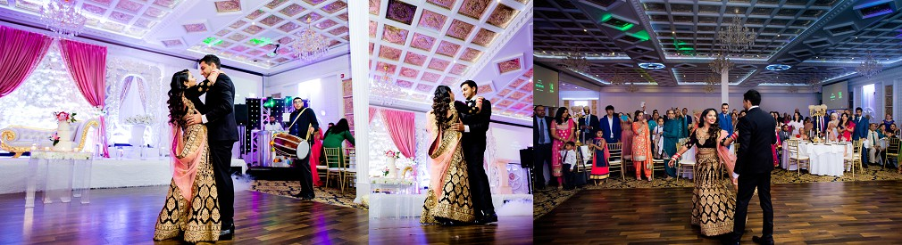 luxury indian wedding reception Calgary