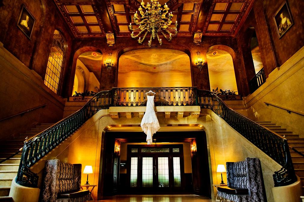 Quebec City hotel wedding