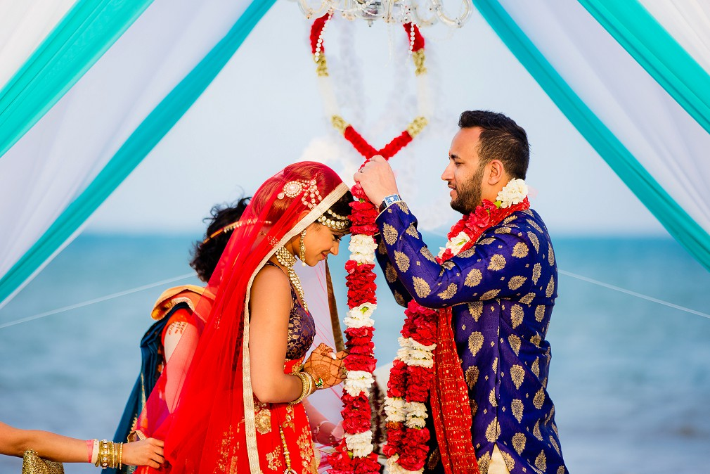 resort hindu destination wedding