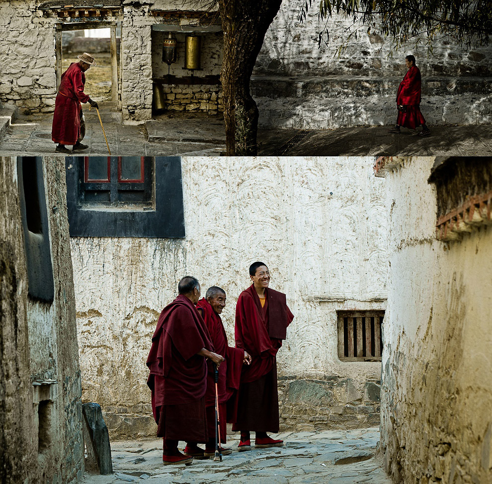 holy monasteries in Tibet