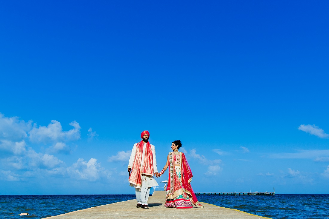 sikh wedding in Mexico