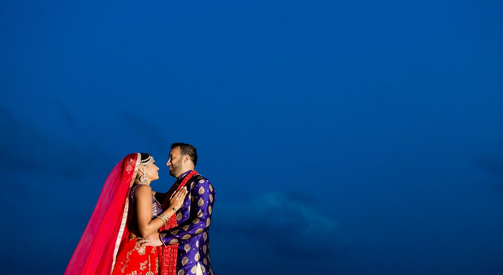 south asian beach destination wedding