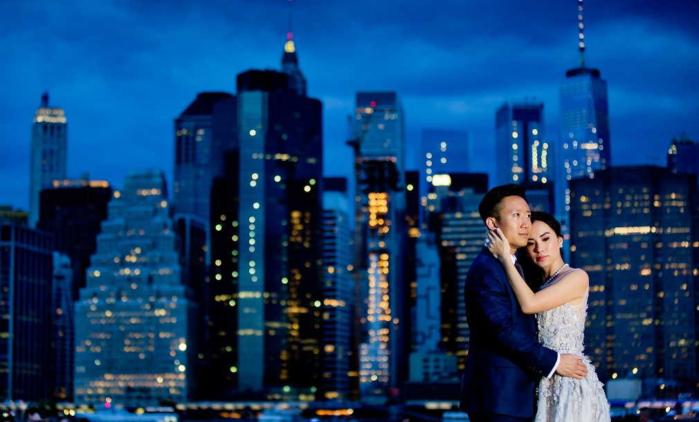 stunning manhattan wedding pictures