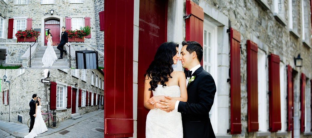 stunning Quebec city weddings