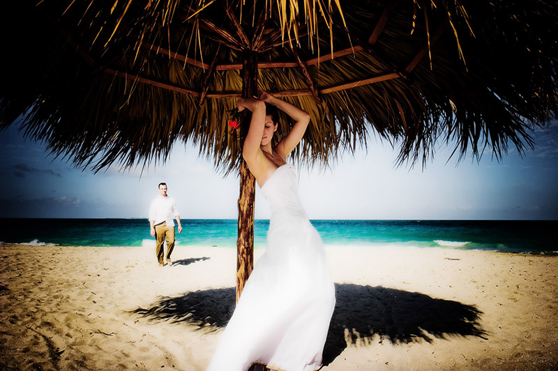 wedding photography at Paradisus Princesa del Mar resort in Cuba